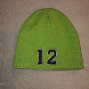 Free with purchase. Seahawk Beanie hat. Youth.